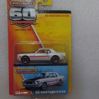 '68 Mustang GT/CS