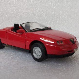 Alfa Romeo Spider Rood
