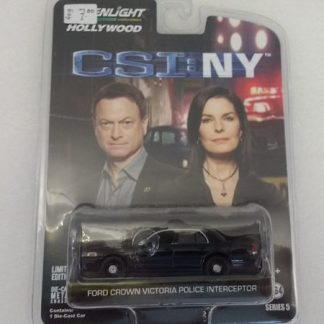 Ford Crown Victoria Police Interceptor CSI:NY