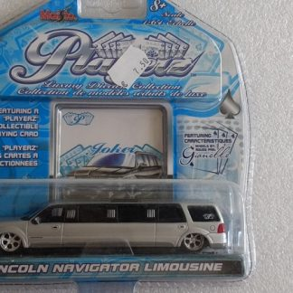 lincoln navigator limousine zilver
