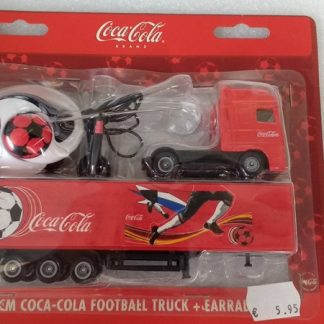 Coca Cola Football Truck + Earradio