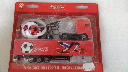 Coca Cola Football Truck + Earradio