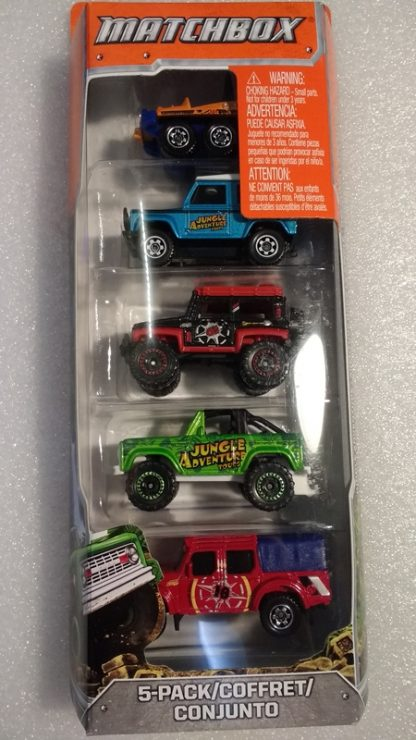 Matchbox 5 Pack #4