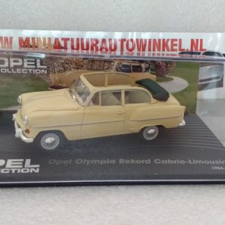 Opel Olympia Rekord Cabrio - Limousine