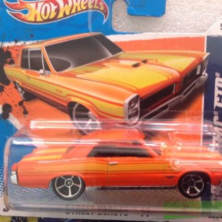 hot wheels pontiac GTO